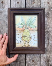 Potato - Original framed drawing