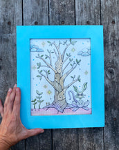Tree Being - Original framed drawing
