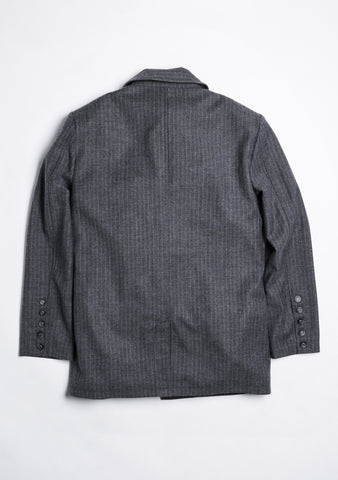 Coverall Jacket 4 Pockets Style 滾邊4貼袋毛料夾克