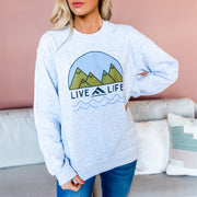 Live Life Pullover