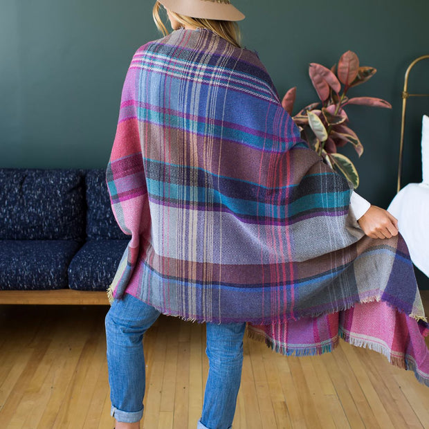 Winter Fringe Poncho