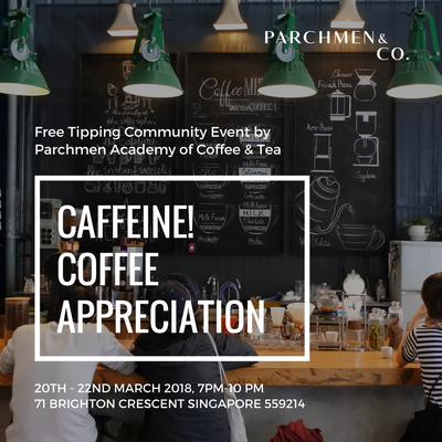 CAFFEINE! - COFFEE APPRECIATION EVENT
