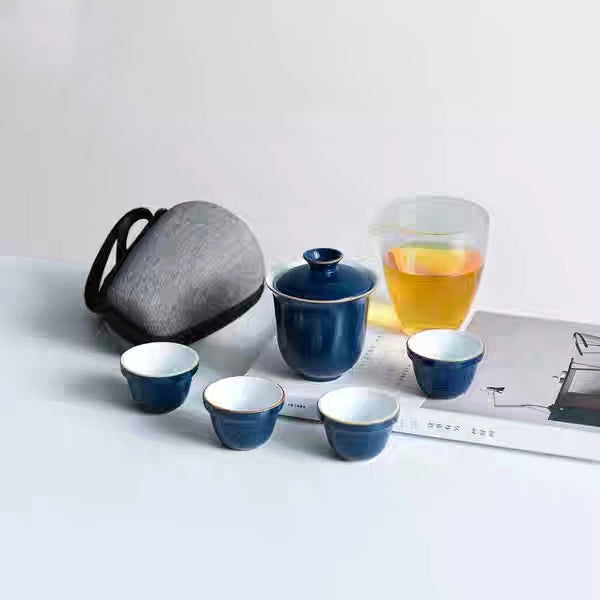 Gaiwan Travel Set with Cup of Fairness