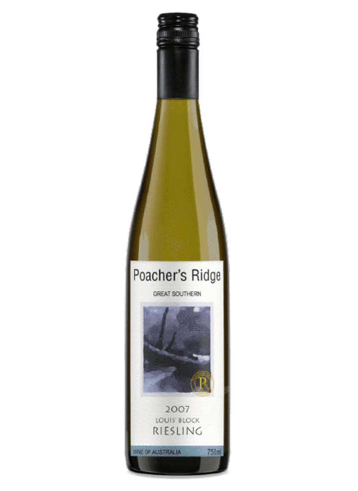 Poacher's Ridge Aged Riesling 2007