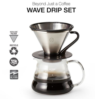 Hand Brew Wave Drip Set - SF03