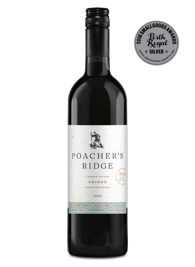 Poacher's Ridge Shiraz 2015