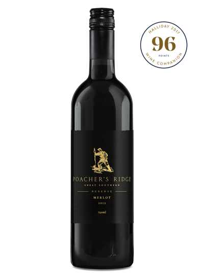 Poacher's Ridge Reserve Merlot 2012