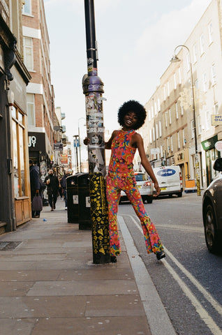 Flare Street London England Brick Lane 2020 Come Together Bell Bottoms