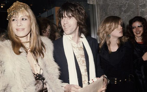 Anita Pallenberg-Flare Street Bell Bottoms Style Keith Richards