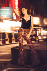Big City Lights Anon Magazine Velvet Flares