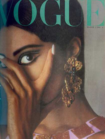 Donyale Luna Vogue Cover