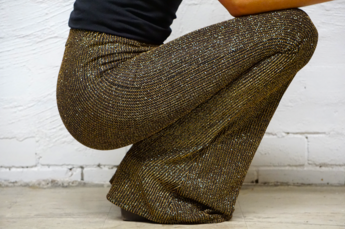 Galaxy Gold Sparkle Flares