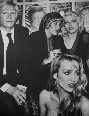 Studio 54 Flare Street  Andy Warhol Jerry Hall