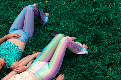 Mermaid Rainbow Flares