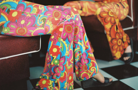 Flare Street Bell Bottoms Rainbow