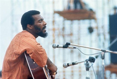 Image result for richie havens at woodstock 1969