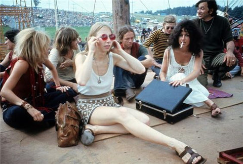 Woodstock Crowd Flare Street