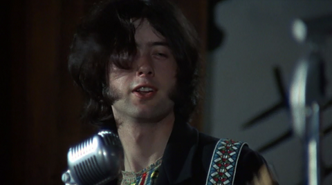 Jimmy Page Blow Up Flare Street