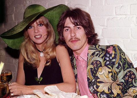 Pattie Boyd George Harrison Beatles