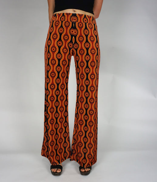 Ophir Wide Leg Velvet Flares - All Colours