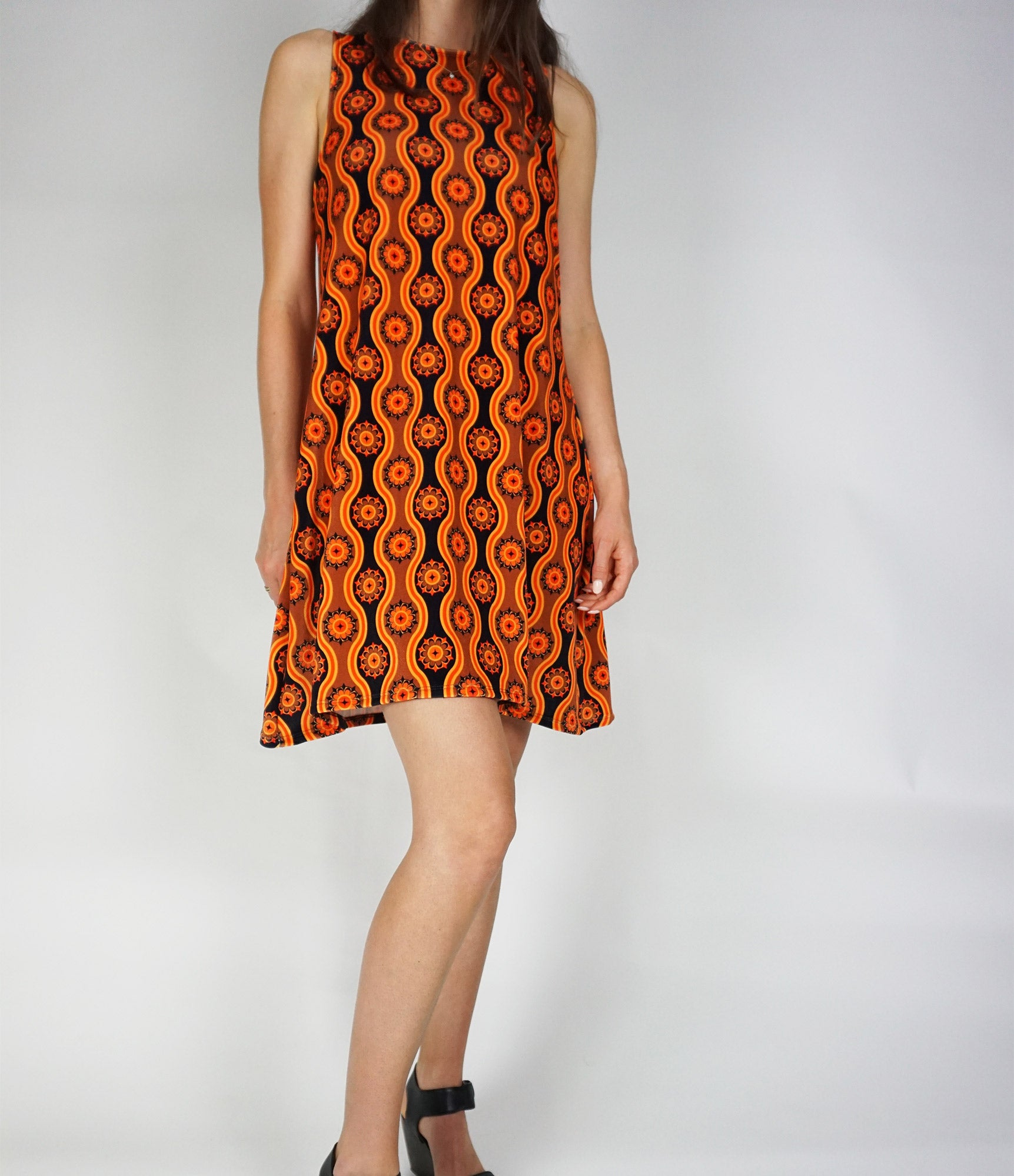 Ophir Dress - Tan