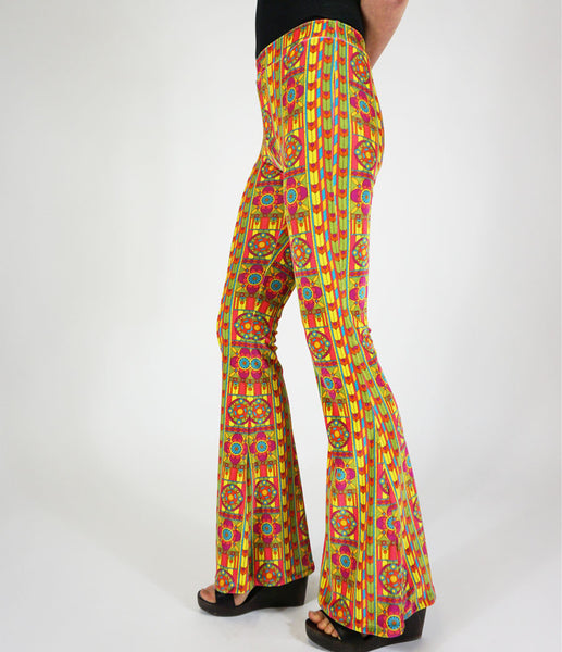 *Chiara Velvet Flares - Lollipop* Flare Street Exclusive Design