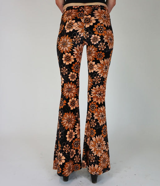 Frida Flora Brown & Pink Flares - Dazey LA & Flare Street Exclusive