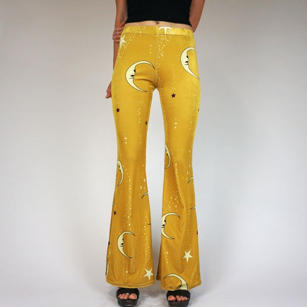 An Exclusive: Hendrix Nights Velvet Flares - Golden Moon