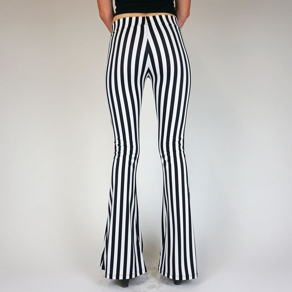 Le Breton Parisian Striped Flares