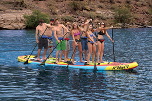 It's a bird.  No it's a plane.  It's Super SUP! - Multi-Person Paddle Boarding