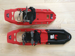 MSR snowshoes with tail extensions