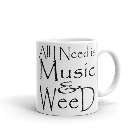 303zTreez Coffee Mugs 11oz All I Need Mug