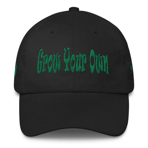 303zTreez Dad Caps Black Grow Your Own Classic Dad Cap