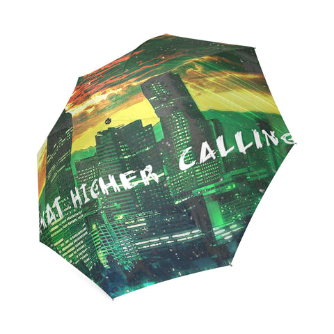 303zTreez Foldable Umbrella Fire In Da Sky Foldable Umbrella