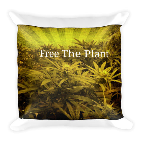 303zTreez Pillows Default Title Free The Plant Throw Pillow
