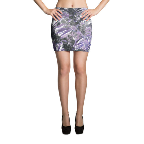 303zTreez Skirts XS Garden of Weedin Purpz Mini Skirts