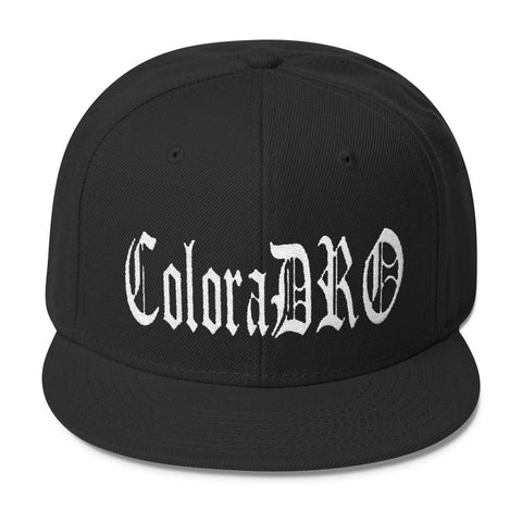 303zTreez Snapbacks Black ColoraDRO Ol E throwback Wool Blend Snapback