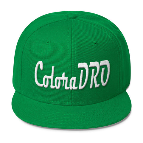 303zTreez Snapbacks Kelly ColoraDRO Retro Wool Blend Snapback