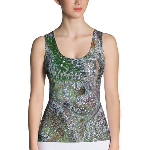 303zTreez Women's Tops XS Jewelry Store Dank Form Fitting Tank Top (Kurple)