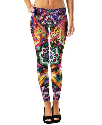 LetsRage Leggings Bursting Star Leggings