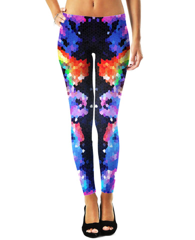 LetsRage Leggings Crystal Symmetry Leggings