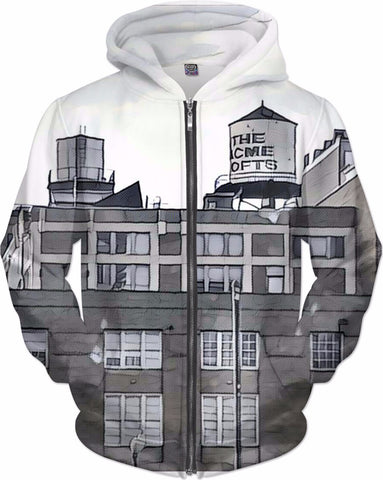 MrEz Hoodies Acme Lofts All Over Print Hoodie