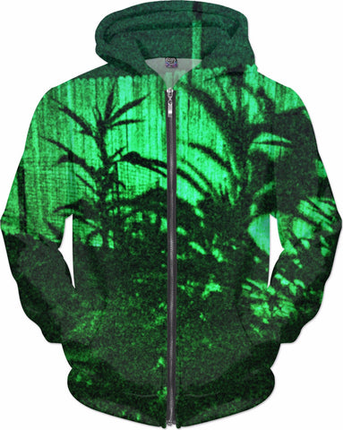 MrEz Hoodies Green Shadowz All Over Print Hoodie