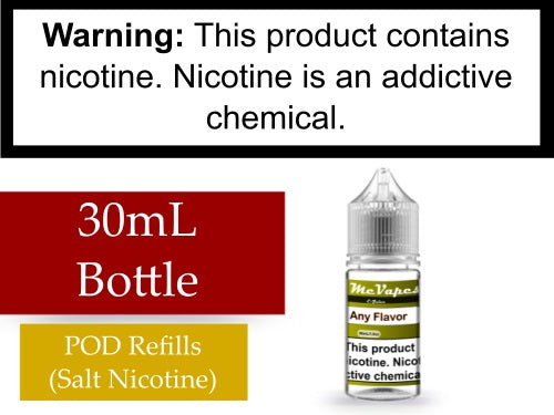30mL Bottle for POD Refilling