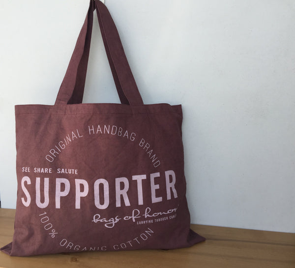 Deanna Tote - SUPPORTER (2 color choices)