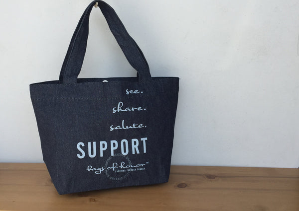 Hannah Tote - SUPPORTER (2 color choices)