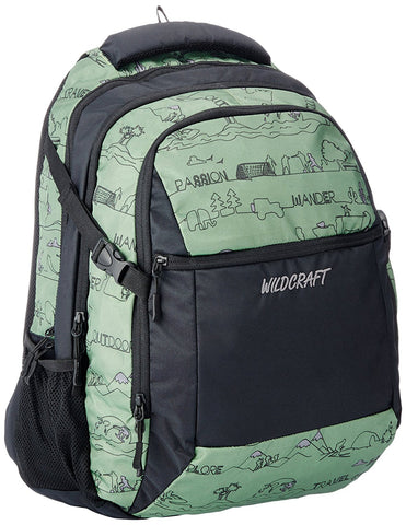 Wildcraft Surf LD Polyester Green Backpack