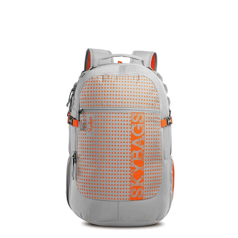 Skybag Lazer Plus 01 Laptop Backpack Grey