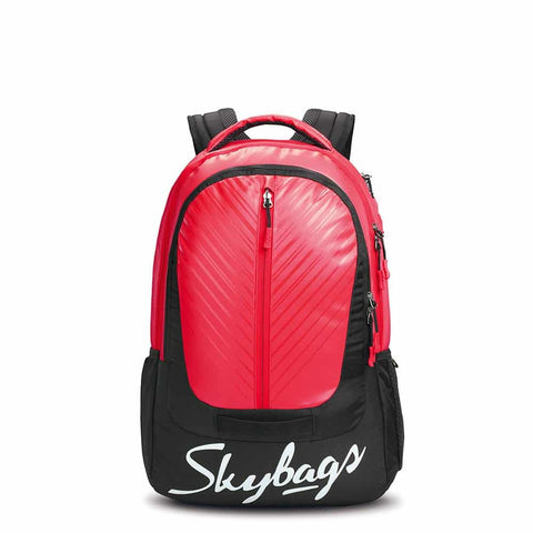 Skybag Lazer Plus 03 Laptop Backpack Red