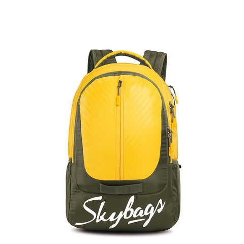 Skybag Lazer Plus 03 Laptop Backpack Yellow
